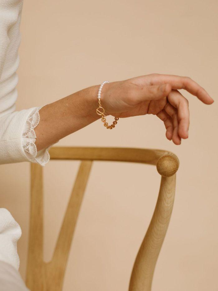 Bracelet perle de culture femme