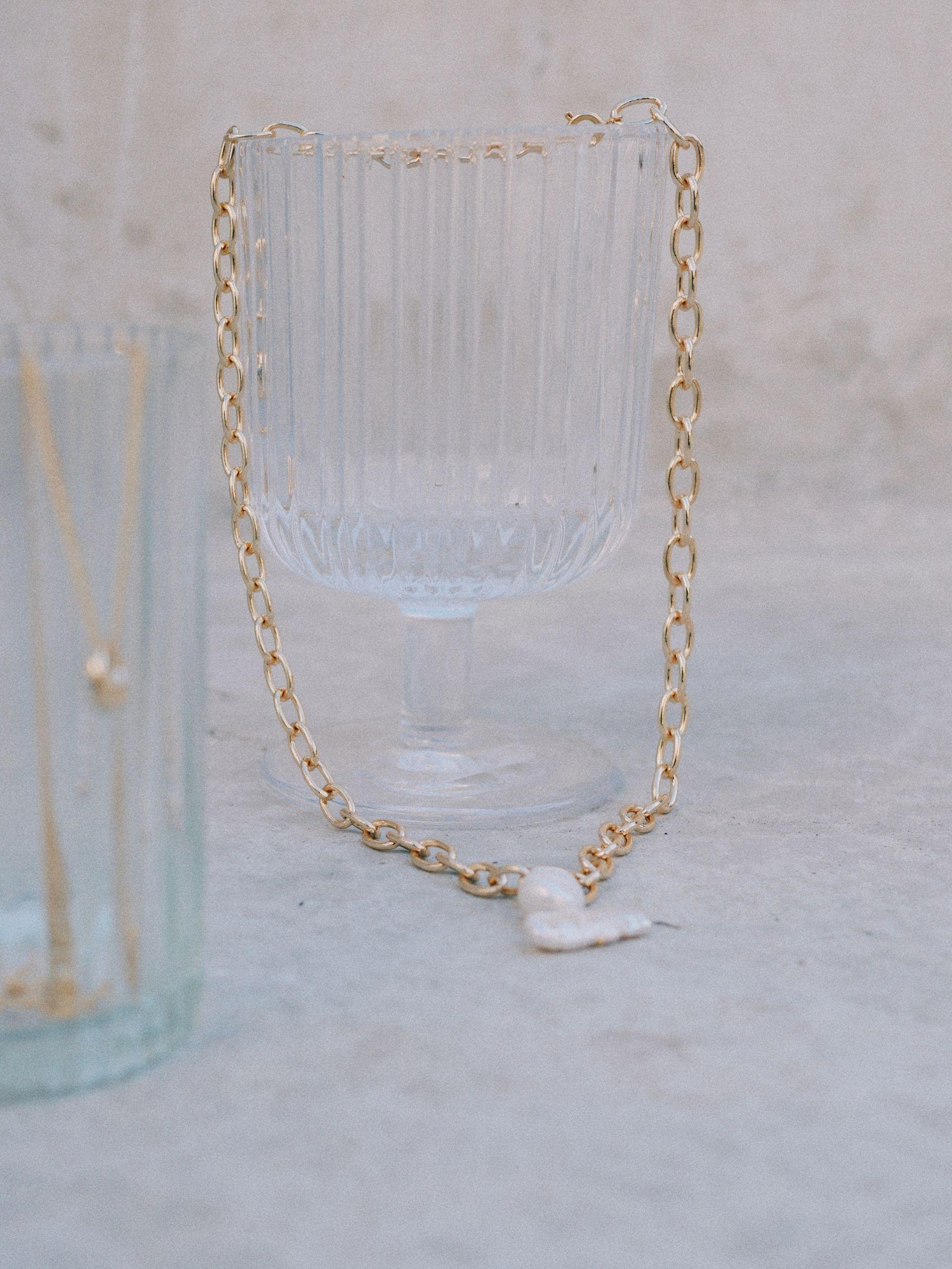 collier perle de culture femme