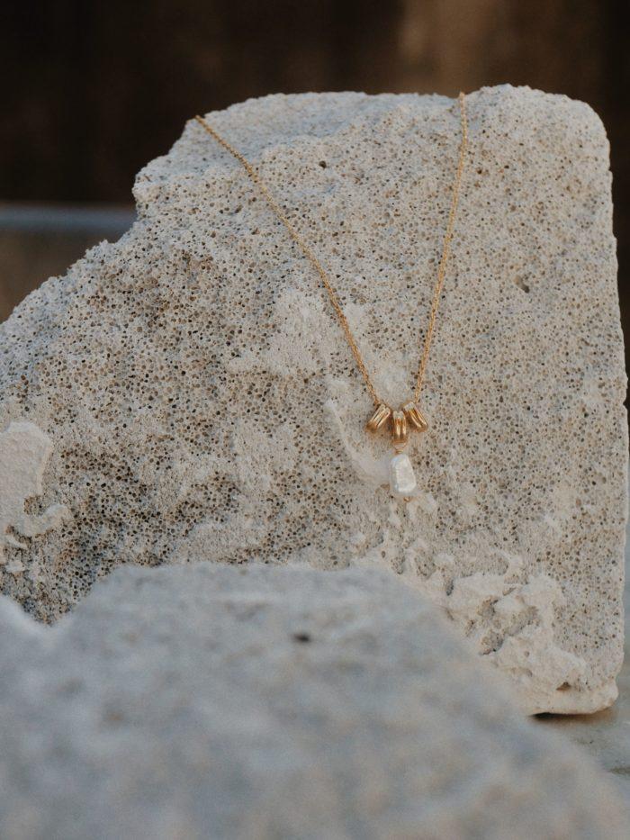 collier plaqué or pendentif